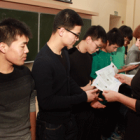 Chinese students got the certificates