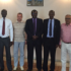 Diplomats meeting at the Embassy of  the Federal Democratic Republic of Ethiopia