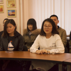New students group from China starts classes