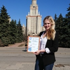 A young scientist from Belgorod State Technological University named after V.G. Shukhov took part in the International Forum «Lomonosov»
