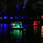 «Metamorphosis» Center demonstrated the first water performance in the city
