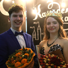University students became the King and Queen of the charity ball in Belgorod