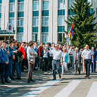 Students and professors of BSTU named after V.G.Shukhov celebrated the new academic year