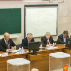A conference of staff and students was held at the flagship university