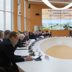 An extraordinary meeting of the academic council was held at the flagship university