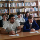 Students attended a memory lesson dedicated to the 75th anniversary of the Great Victory