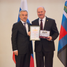 Dr. Sergey Glagolev awarded the highest distinction of the region