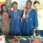 Students from Benin celebrated their Independence Day