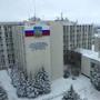 Зимний день в БГТУ имени В. Г. Шухова