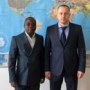 Vice-Rector for International Affairs met with the representative of Angola