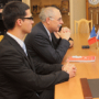 Visit of the Rector of Graduate School of Engineers in Ales (France)