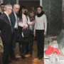 The Honoured Visitor took part in the Exhibition Opening