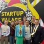 The delegation of the support university visited the international startup conference «Startup Village»