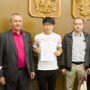 Students from China received certificates of completion at BSTU named after V.G. Shukhov