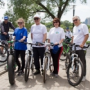 The flagship university took part in the bike ride «Zdorovo!»