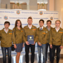 The head of the student construction brigade was awarded the President's gratitude