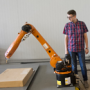 A new robot for volumetric printing implemented at the university