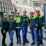 Students from the mechanical equipment department had the summer internship at leading enterprises