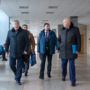 Administration of the Kursk Polytechnic University got acquainted with the infrastructure of BSTU